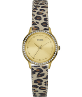 Chelsea 30mm Gold Ladies Watch with Panther Strap