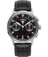 G38  42mm Black Pilot Chronograph with Date