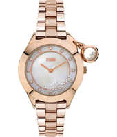 47222-RG Sparkelli 34mm Ladies Quartz Watch with loose Crystals