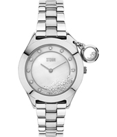 47222-S Sparkelli 34mm Ladies Quartz Watch with loose Crystals