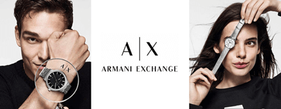 Armani Exchnage watches