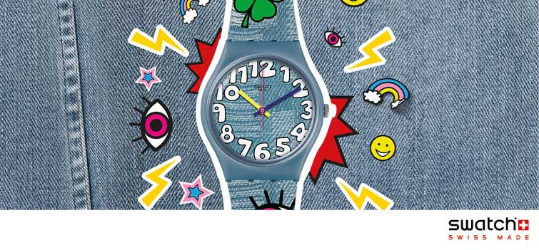 Swatch Think Fun zegarki