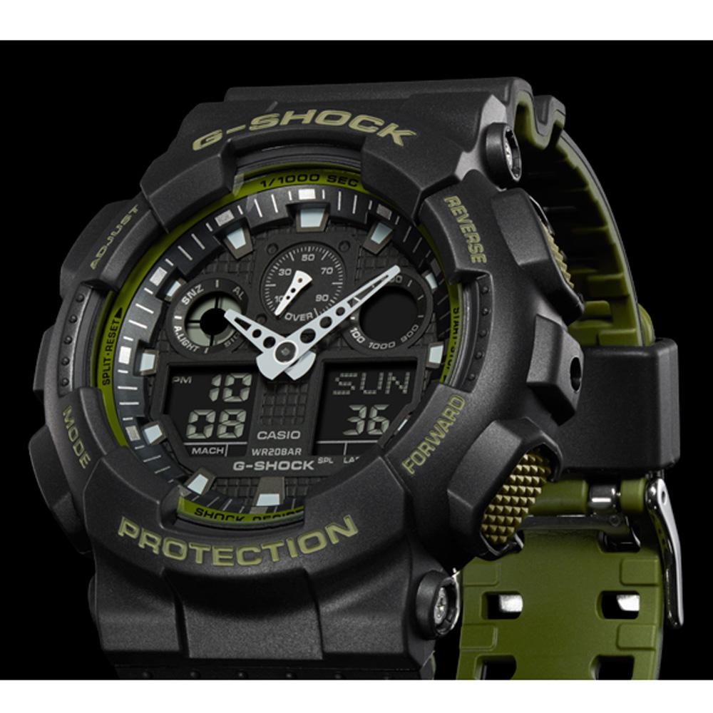 33c7a41448a36b G-Shock Classic Style GA-100L-1AER Layered Color Zegarek • EAN ...