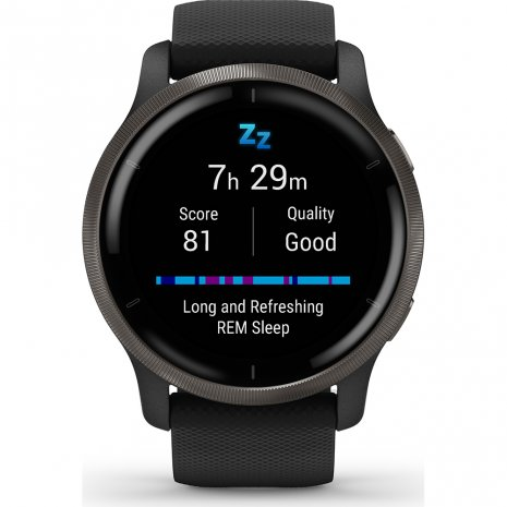 Health smartwatch with AMOLED screen, Heart Rate an GPS Kolekcja Wiosna/Lato Garmin