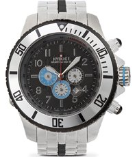 SBC-004-55 Metal Chrono black dial 55mm
