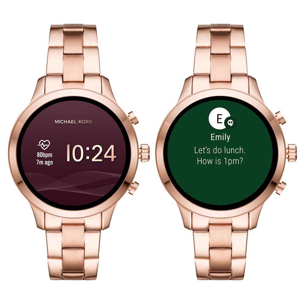 17394b68c934e Michael Kors Zegarek Różowe złoto. Zegarek Różowe złoto Smart Digital