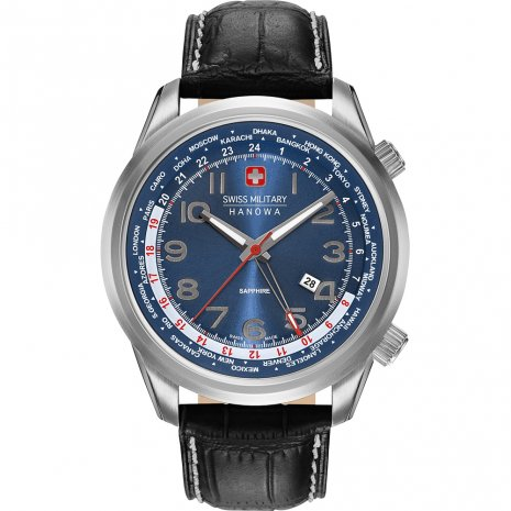 Swiss Military Hanowa Worldtimer Zegarek